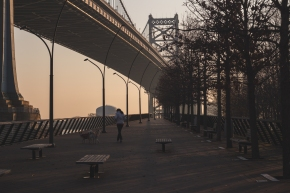 Philadelphia: Early Morning on Race Street Pier | TraciElaine.com