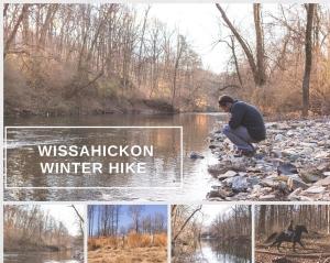 TraciELaine.com Winter Hike in the Wissahickon Trails