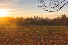 TraciElaine.com | Sunrise on Belmont Plateau